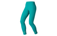 Odlo Ladies Pants long WARM tile blue/sulphur spring